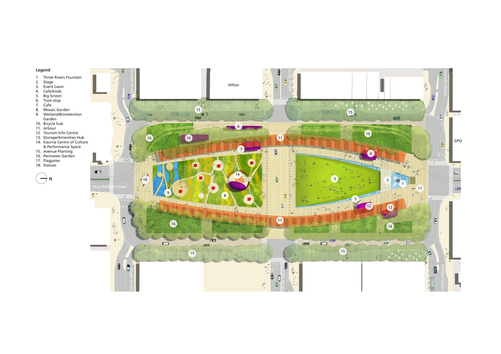 Aila south australia state awards 2011 tickle for Urban design adelaide